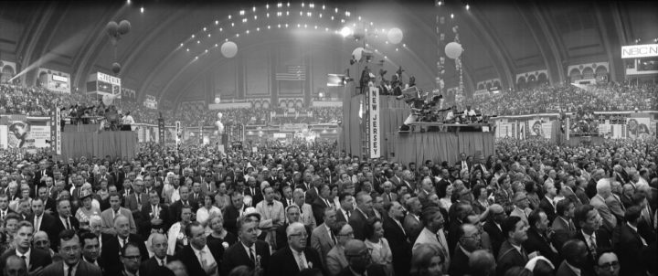 The 1964 Democratic National Convention in Atlantic City. Photo: Library of Congress