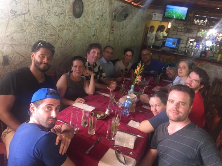 Lunch in Cojimar. photo: CHPC