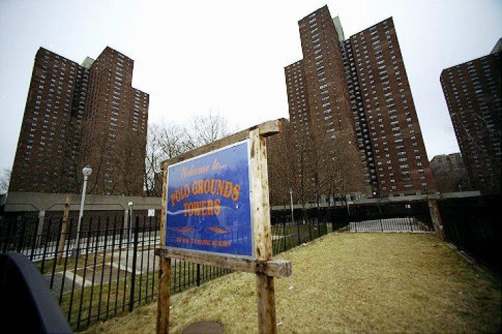 The Polo Grounds Houses in Harlem. Photo: NY Daily News