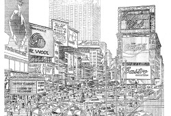 The Pedestrianization of Times Square
