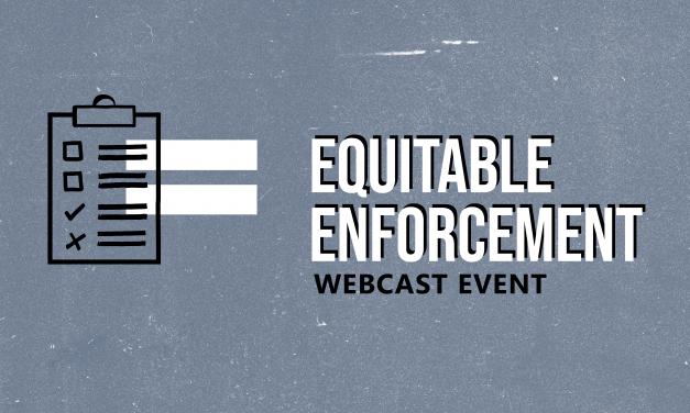 Equitable Code Enforcement Webcast